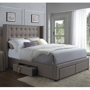 King Size Storage Included Beds You'll Love | Wayfair