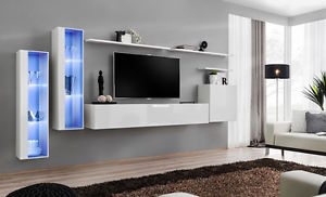 Image is loading Shift-11-White-Modern-wall-units-up-to-
