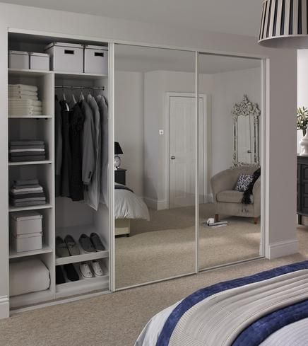 Tips to choose perfect white wardrobes with mirror for your room