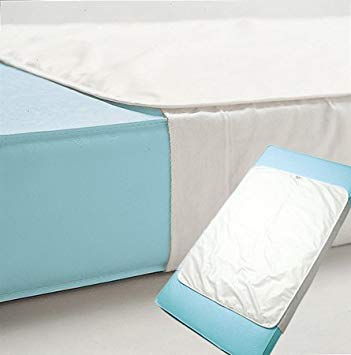 Kushies Crib to Twin Bed Waterproof Mattress Pad with Tuck Sides