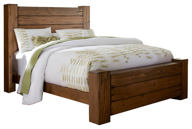 Trilby Wooden Bed - Transitional - Panel Beds - by Progressive Furniture