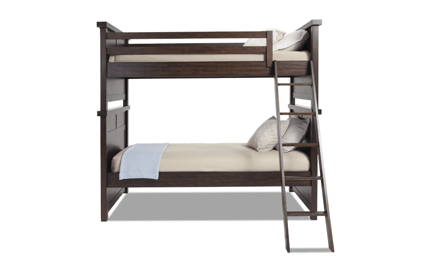 Hudson Youth Twin Bunk Bed | Bobs.com