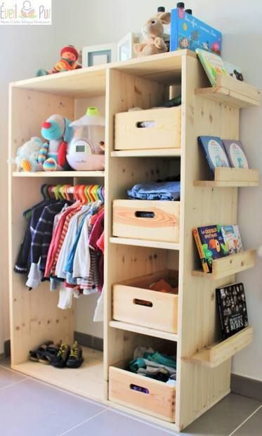 Freestanding Closet, No-Closet Nursery Wardrobe Solution | Baby Baby