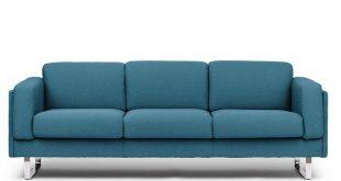 3 seater fabric sofa with fire retardant padding CAB | 3 seater sofa by  True Design