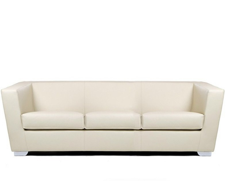 3 seater leather sofa HEBE | 3 seater sofa by True Design