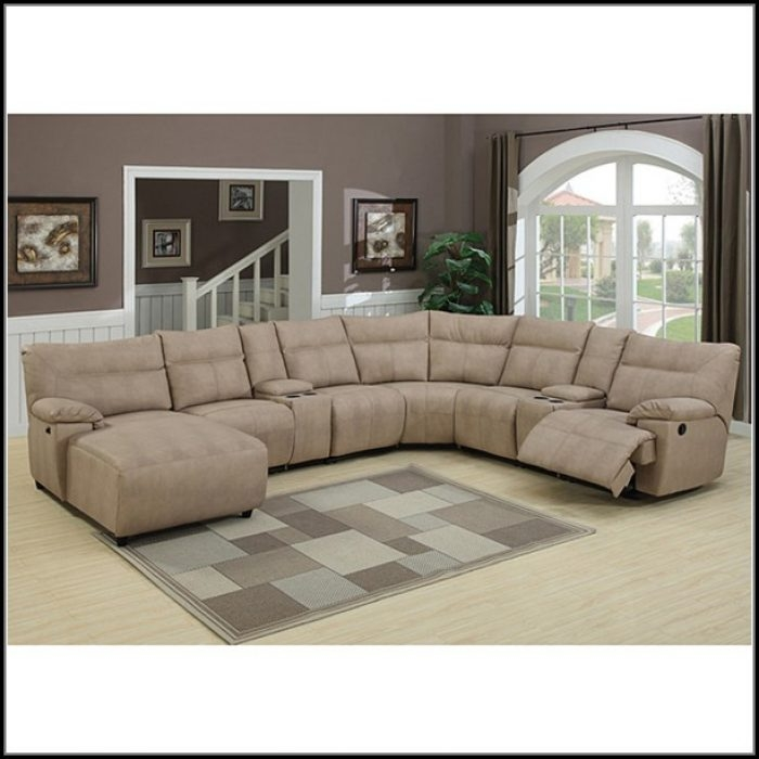 Agreeable Excellent 8 Piece Leather Sectional Sofa Sofa Home Furniture Ideas