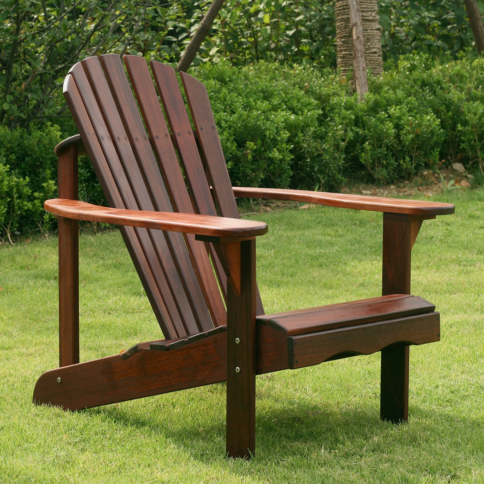 Belham Living Richmond Curveback Shorea Wood Deluxe Adirondack Chair -  Traveller Location