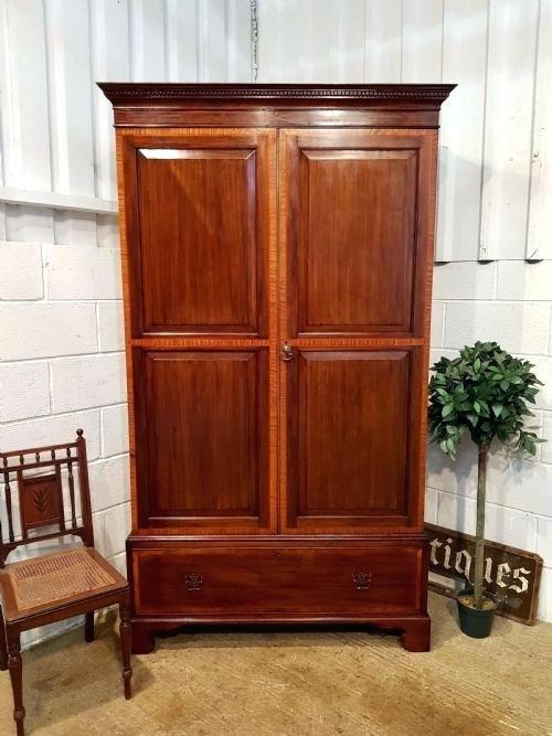 Antique Wardrobe Designs Antiques Ltd A A Mahogany Wardrobe Interior