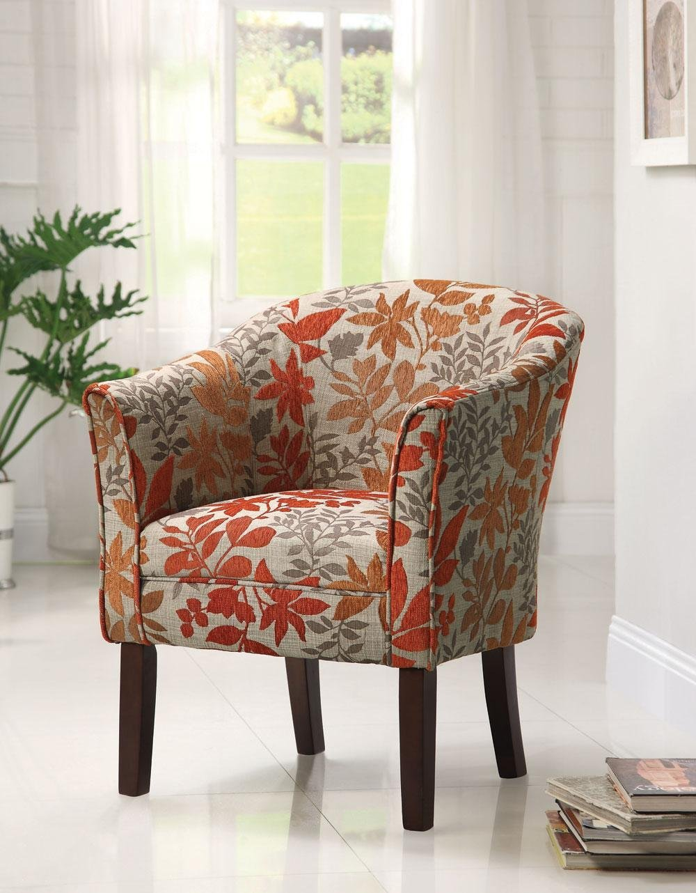 Perfect Creativity Small Armchairs For Living Room Modern Designing  Interior Collection Flower Motive