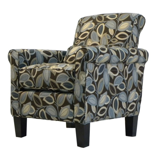 9. Handy Living 340C-PTL52-033 Hailey Transitional Rolled Arm Chair