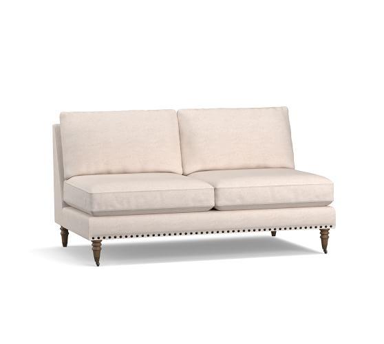 Tallulah Upholstered Armless Loveseat