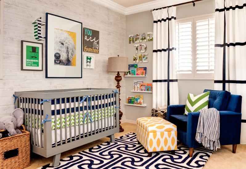 Utilize Bold Colors and Patterns