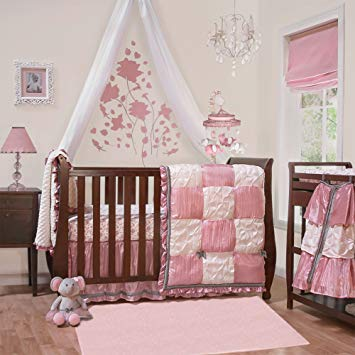 Traveller Location : Bella 6 Piece Baby Crib Bedding Set by The Peanut Shell : Baby
