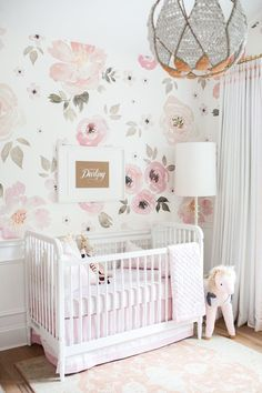 Jolie Wallpaper. Wallpaper For Girls RoomBaby
