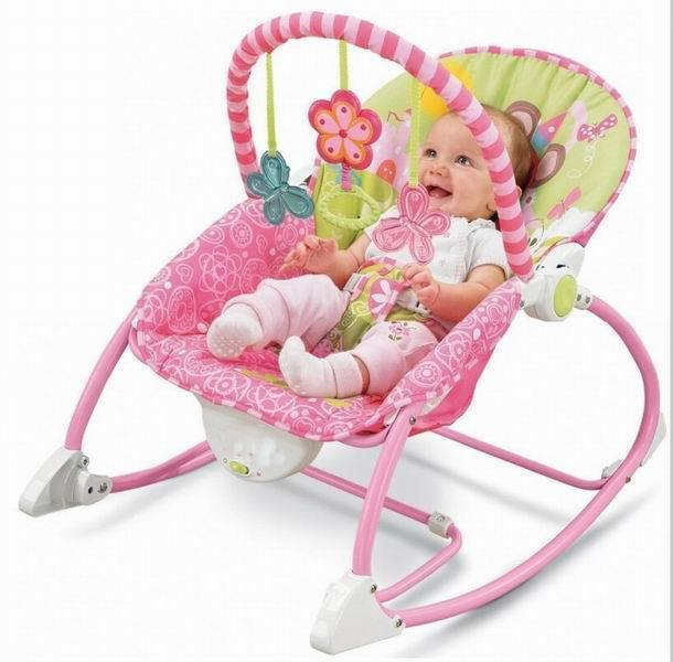 Musical Baby Rocking Chair Toddler Rocker Electric Baby Bouncer Swing