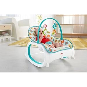 Image is loading Baby-Rocker-Chair-Bouncer-Toddler-Rocking-Seat-Infant-