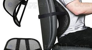 Details about BUY 2 GET 1 FREE Vent Cushion Mesh Back Lumbar Support Car Office  Chair Seat BLK