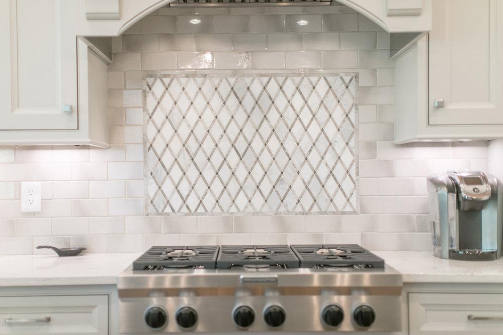 Kitchen backsplash design for a remodel
