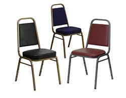 Trapezoid Back Banquet Chairs