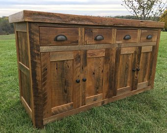 Reclaimed Barnwood Buffet
