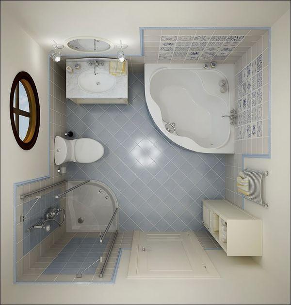 17 Small Bathroom Ideas | house decor | Pinterest | Bathroom design