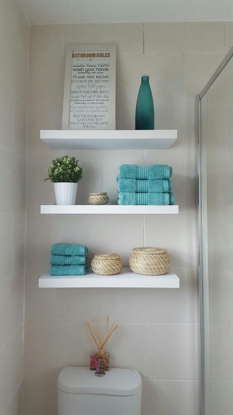 Bathroom shelving ideas - over toilet