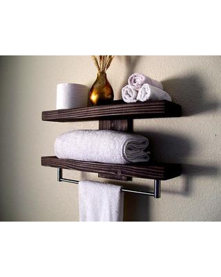 Bathroom Shelves Floating Shelves Towel Rack Bathroom Shelf Wall Shelf Wood  Shelf Floating Shelf Toilet Paper
