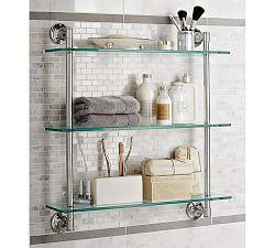 Mercer Triple Glass Shelf