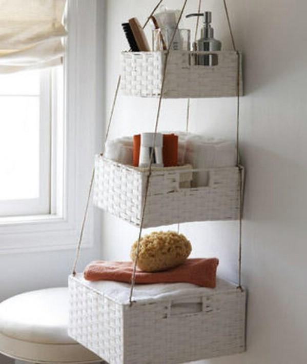 Stylish Bathroom Wall Storage Baskets 30 Brilliant Bathroom Small Bathroom  Storage Baskets