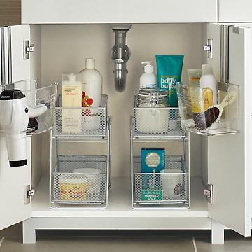 Under Sink Organizers & Bathroom Cabinet Storage Organization | The  Container Store