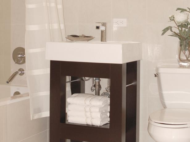 Small Bathroom Vanities | HGTV