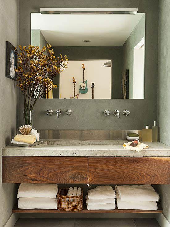 Modern Bathroom Vanities | Beautiful Bathrooms | Pinterest