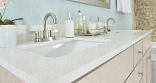 Dual Sink Quartz Vanity Top