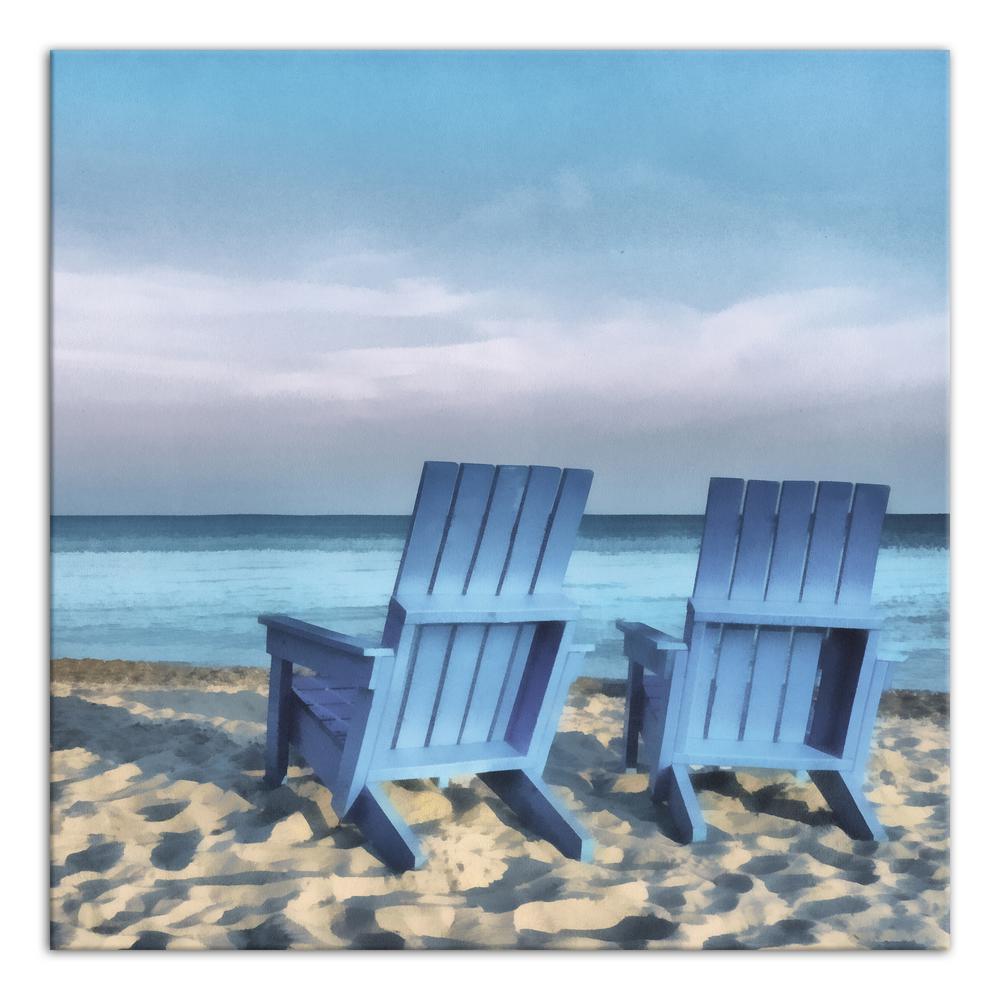 'Blue Beach Chairs'
