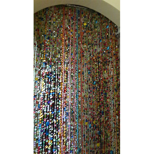Handmade Beaded Curtain