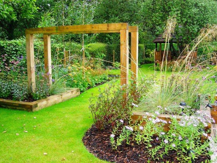 A Beautiful Garden Structure