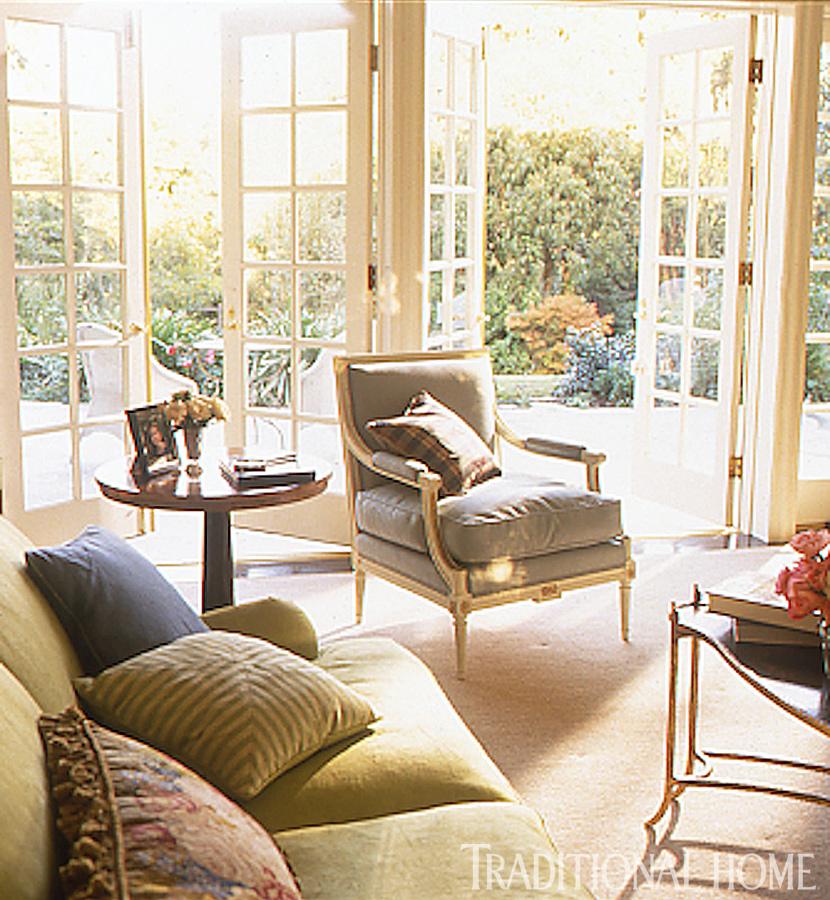 + ENLARGE. Jon Jensen. Indoor-Outdoor Living Room