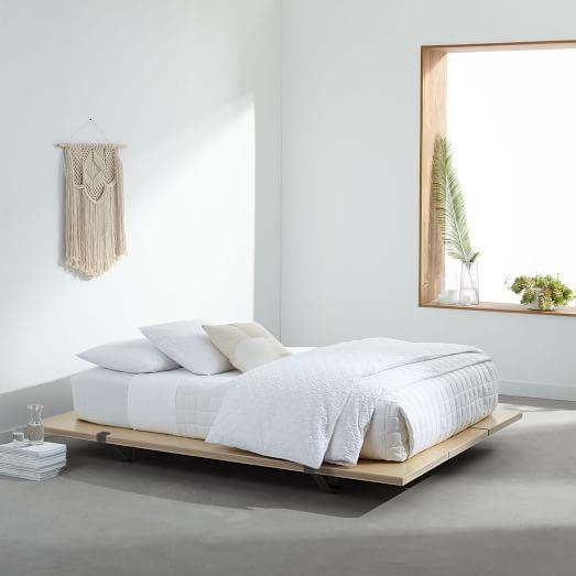 Floyd Platform Bed, Twin, Black