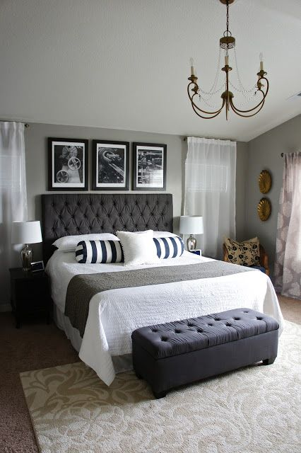 26 Simple and Chic Master Bedroom Decorating Ideas | StyleCaster