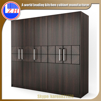 Fashion Bedroom Aluminium Wardrobe