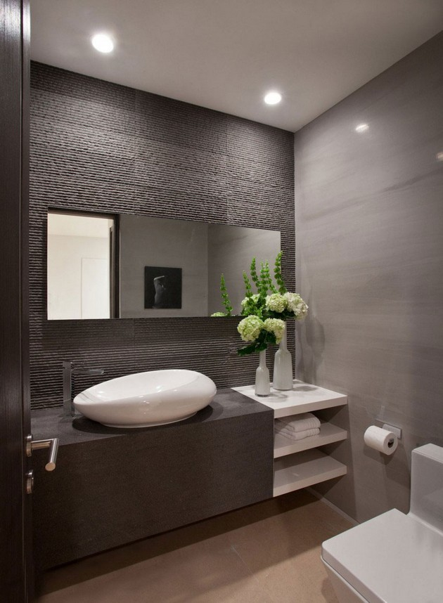 dark gray wall paint colors for best bathroom designs with contemporary  concepts also custom design vanity