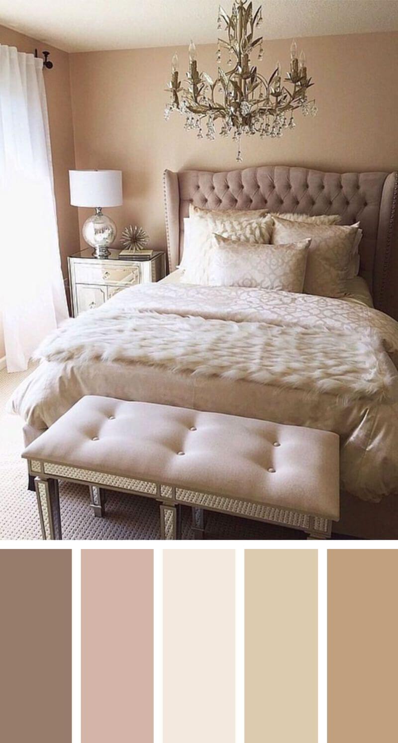 Perfect Nude Bedroom Color Scheme Ideas