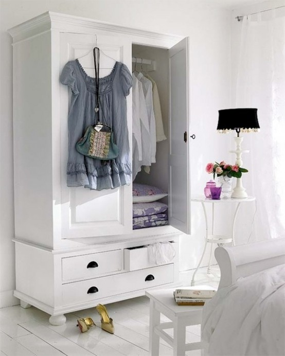 Clever wardrobe storage is a must have for any bedroom. It could be very  functional