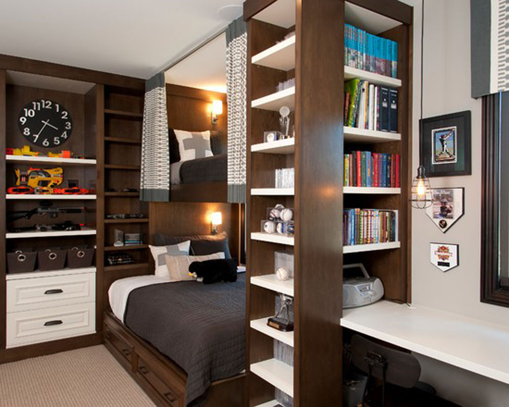 Image of: Best Small Bedroom Storage Ideas