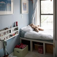 Small childrens bedroom | Storage solutions for small spaces | Small space  designs | PHOTO GALLERY