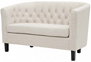 Modway Prospect EEI-2614 – Best For Small Spaces. Modway Prospect  Upholstered Contemporary Modern Loveseat