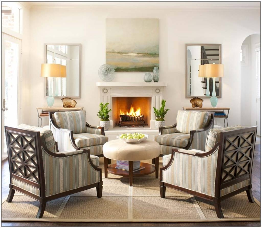 Create Magic With Four Chairs In Living Room Amazing