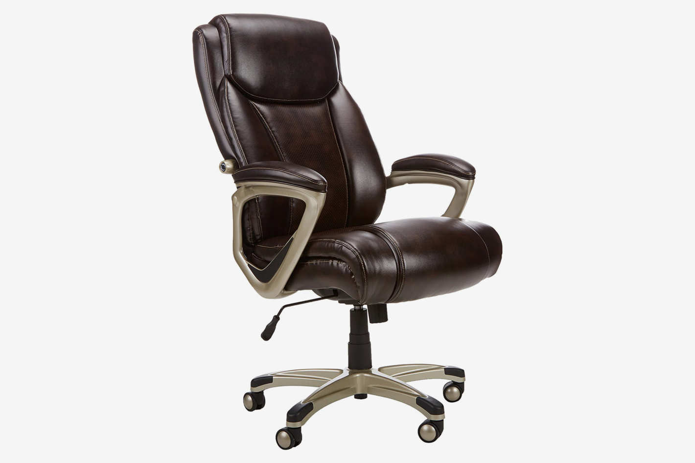 amazonbasics brown office chair for tall people