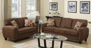 Brown Fabric Sofa and Loveseat Set - Steal-A-Sofa Furniture Outlet Los  Angeles CA