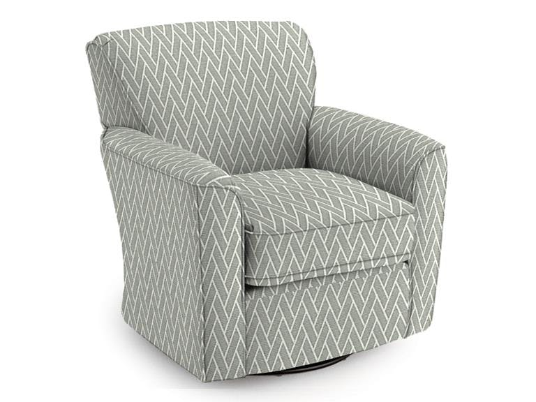 Best Chair Living Room Audrey Swivel Chair OACRBC2887A at American Factory  Direct